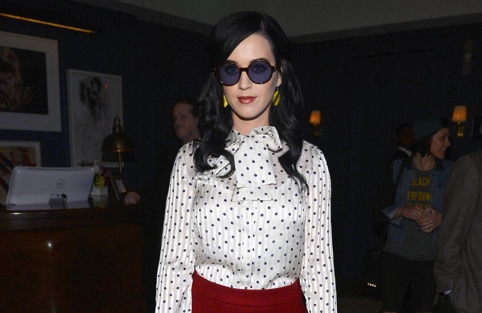 Katy Perry : Un look tout en sobriété ! (Photos)