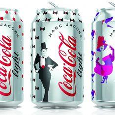 Coca-Cola Light et Marc Jacobs : Le design des canettes révélé ! (Photo)