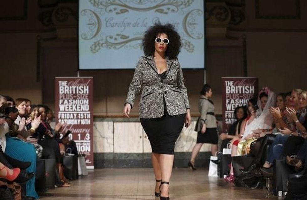 Une Fashion Week uniquement dédiée aux rondes