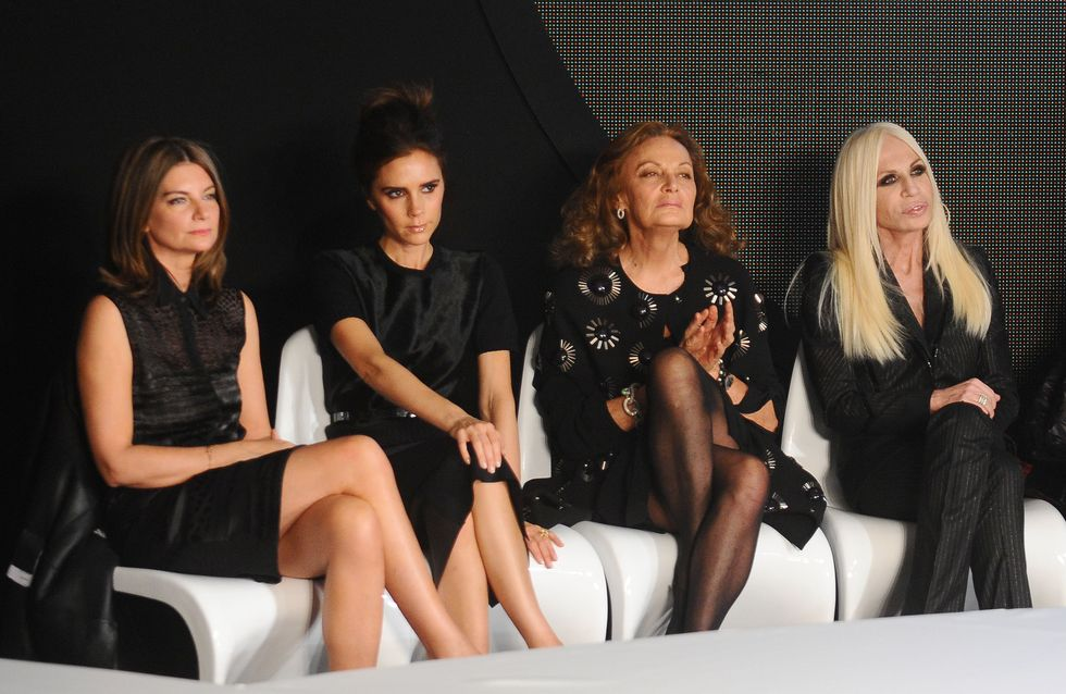 Victoria Beckham fréquente les plus grandes créatrices de mode (Vidéo)