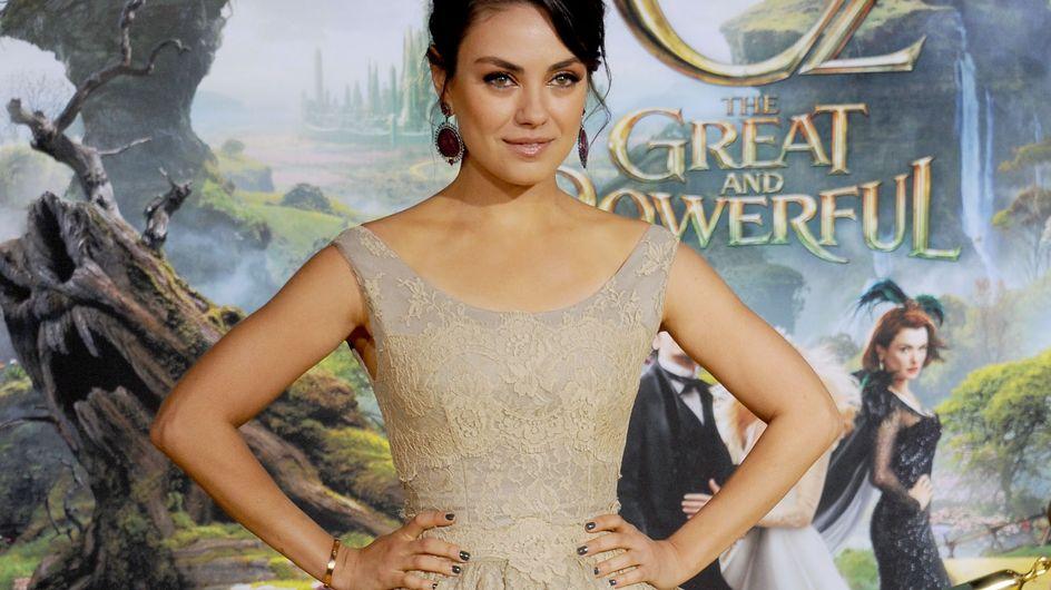 Mila Kunis : Elle préfère la maternité à Hollywood