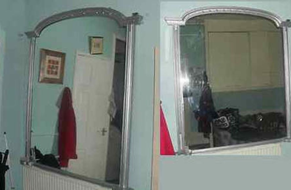 Insolite : Ils mettent en vente sur eBay un miroir hanté