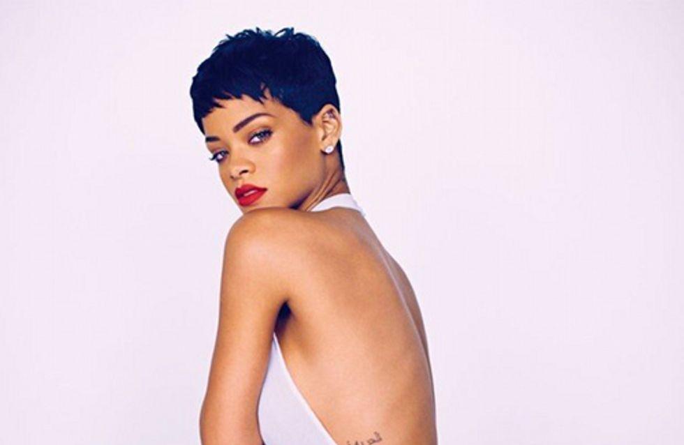 Rihanna : Elégante pour le Elle UK (Photo)