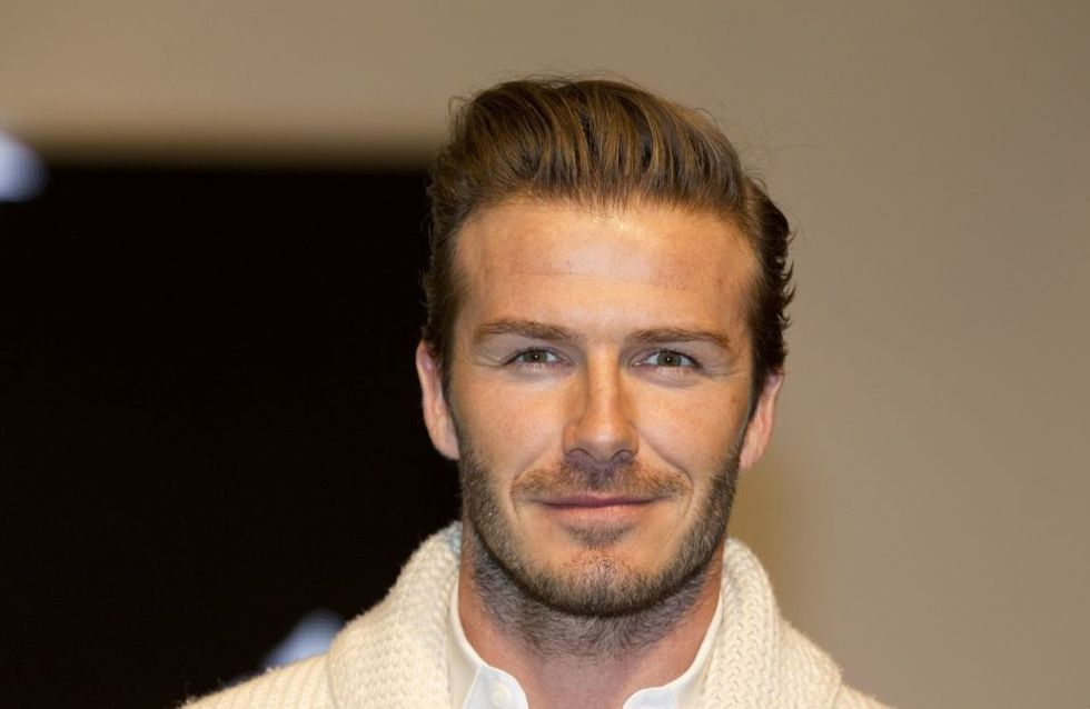 David Beckham : Sa petite sœur se balade seins nus !