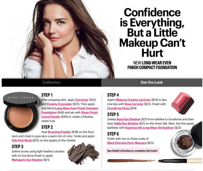 Bobbi Brown conseils maquillage