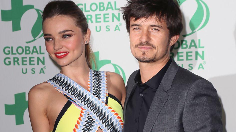 Miranda Kerr : Elle tripote les fesses d'Orlando Bloom devant tout le monde ! (Photos)