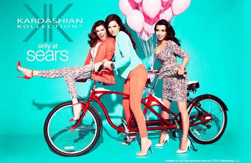 Kim Kardashian : Un look printanier pour sa nouvelle collection de vêtements (Photos)