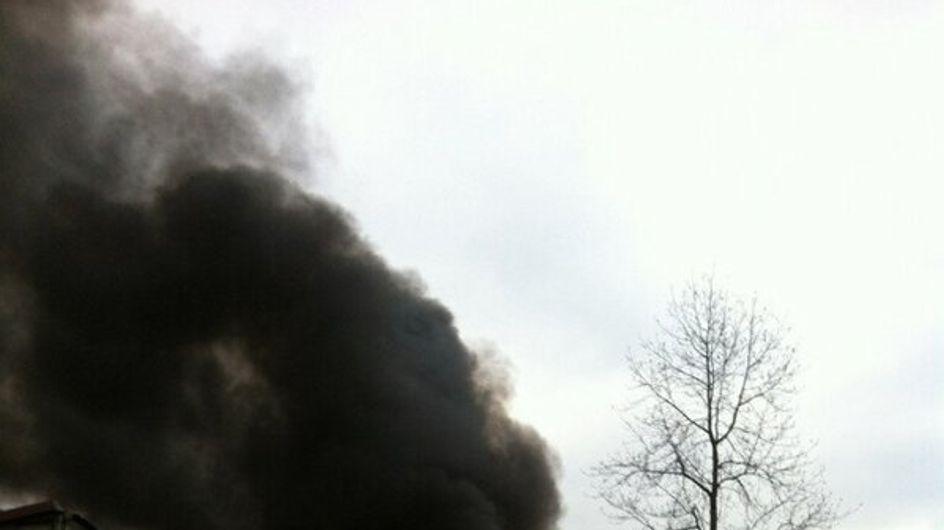 Seine-Saint-Denis : Incendie d'un camp de Roms à Aubervilliers