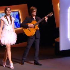 César 2013 : Emilie Simon, un look déjanté signé Paule Ka
