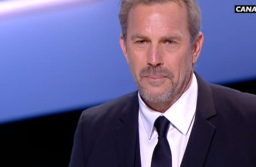 César 2013 : Kevin Costner, ému aux larmes