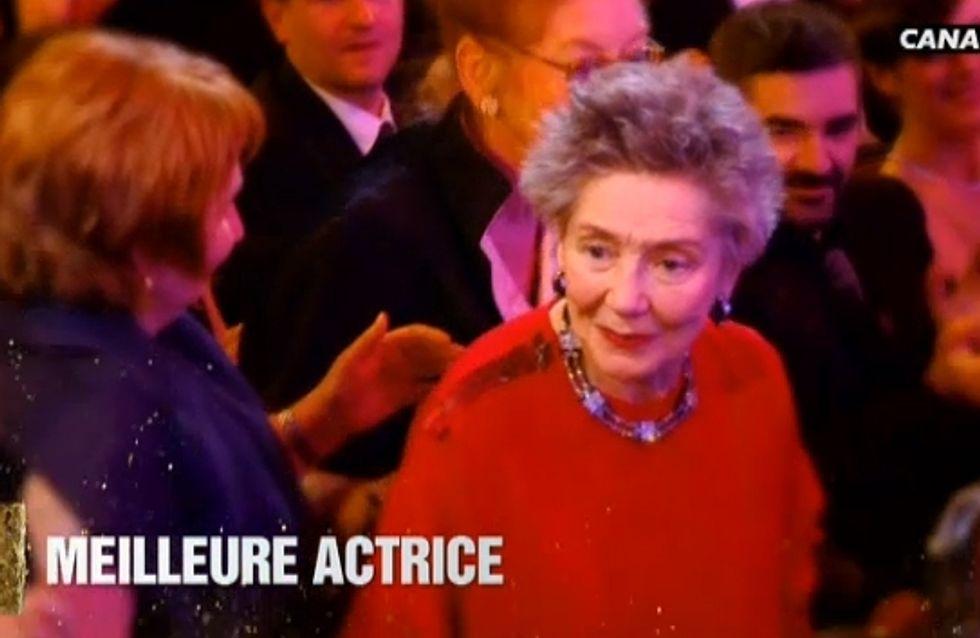 César 2013 : Emmanuelle Riva, meilleure actrice, bouleverse la salle