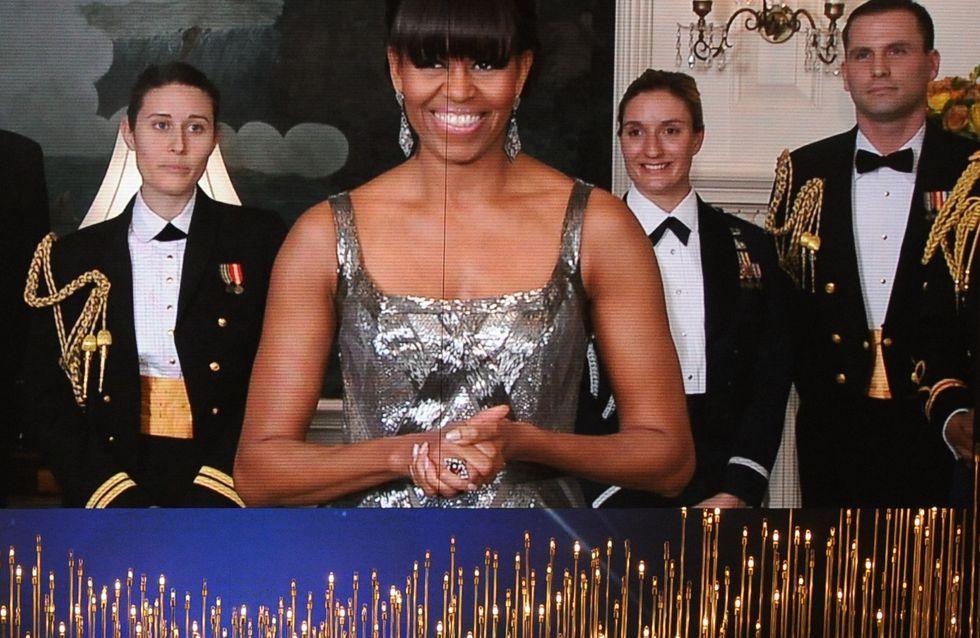 Michelle Obama : L'invitée surprise des Oscars ! (Vidéo)