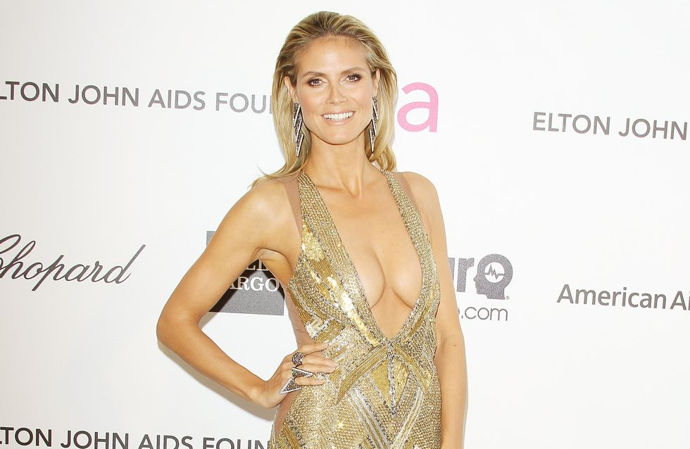 Heidi Klum : Scandaleusement sexy sur le tapis rouge ! (Photo)