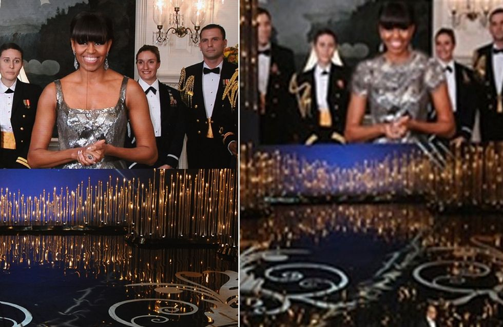 Michelle Obama : Rhabillée par l'Iran !