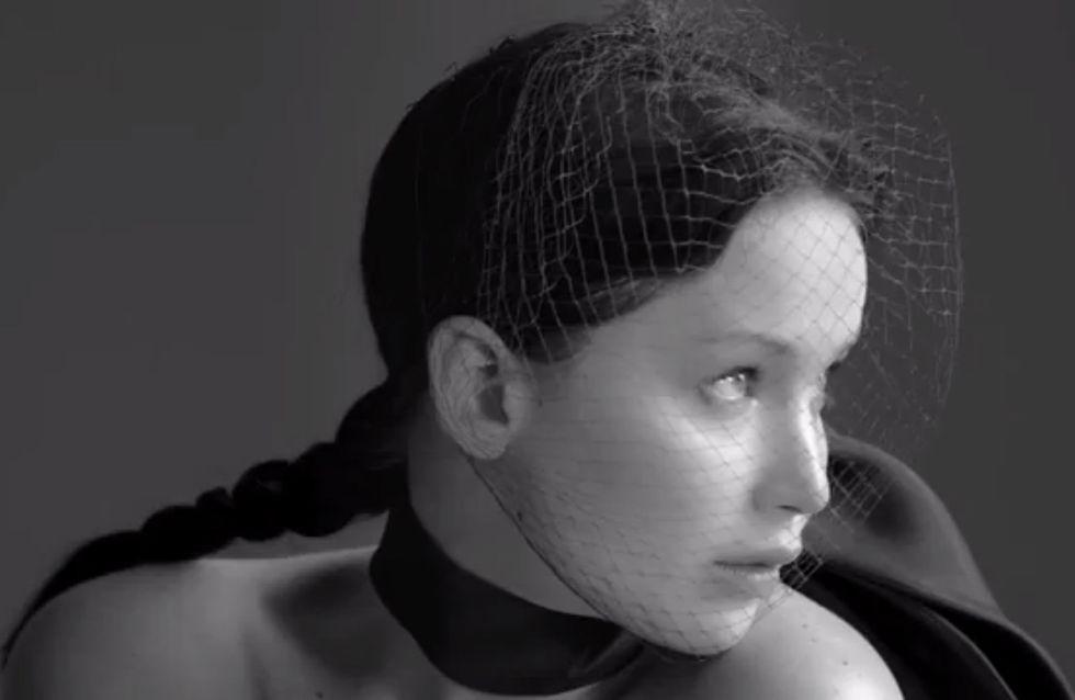 Jennifer Lawrence : Sublime dans le making of de sa campagne pour Dior (Vidéo)