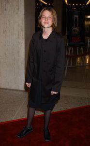 Kristen Stewart, en 2002, à la première hollywoodienne de Panic Room.