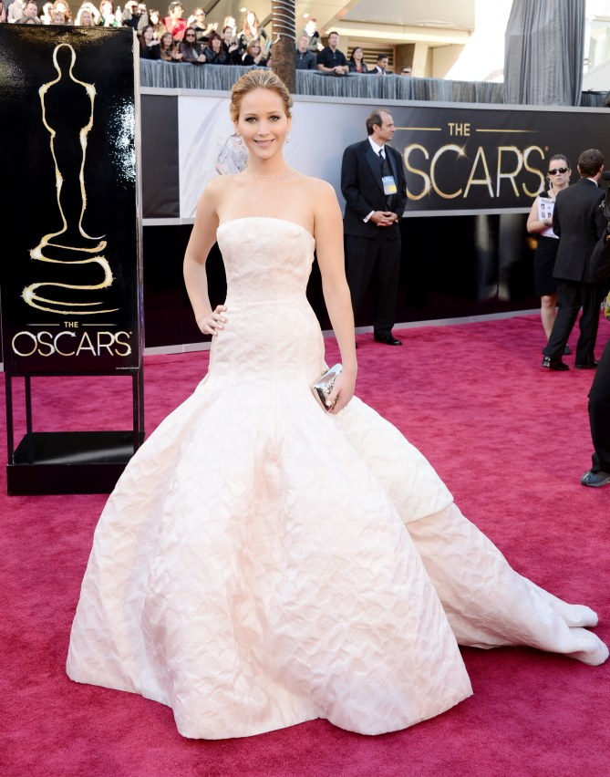 Jennifer Lawrence aux Oscars 2013