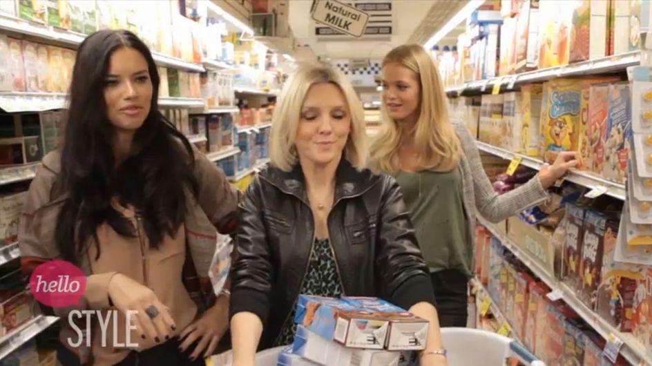 Victoria's Secret : Ce que les Anges mettent dans leur panier au supermarché...