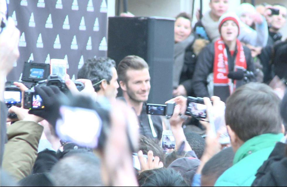 David Beckham en chair, en os et en vidéo à Paris !