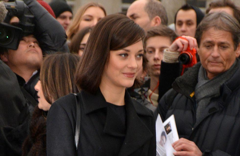 Marion Cotillard rayonne au défilé Dior