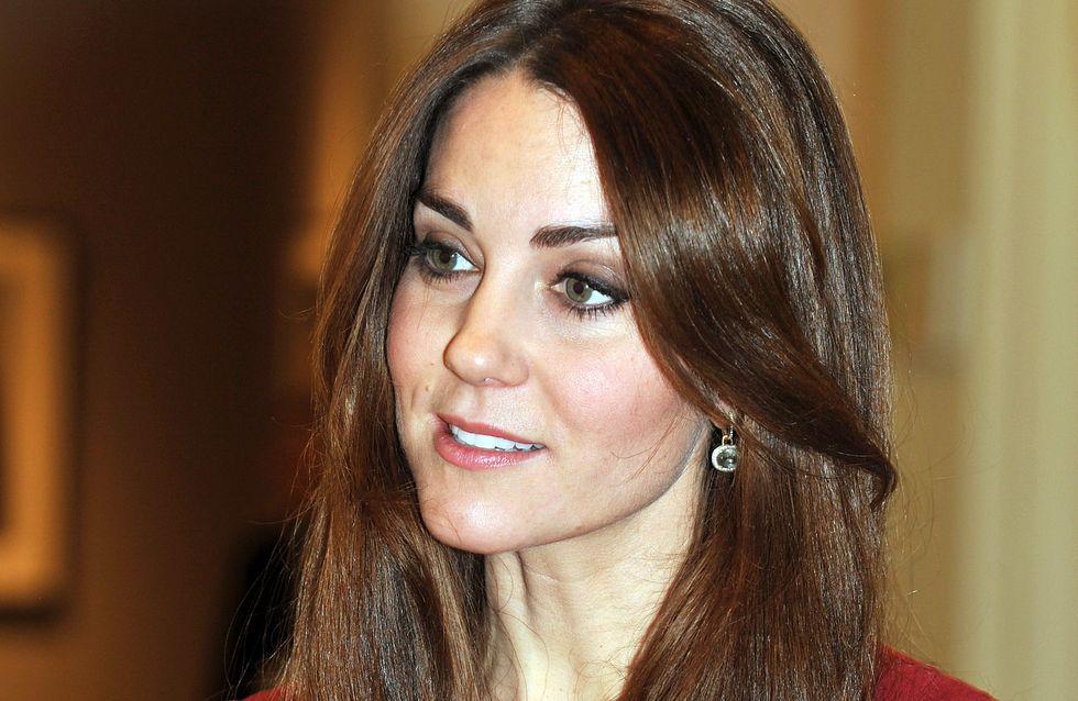 Kate Middleton est en vacances au ski, et elle fait de la luge !