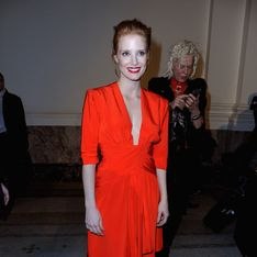 Jessica Chastain : Sublimissime en Yves Saint Laurent