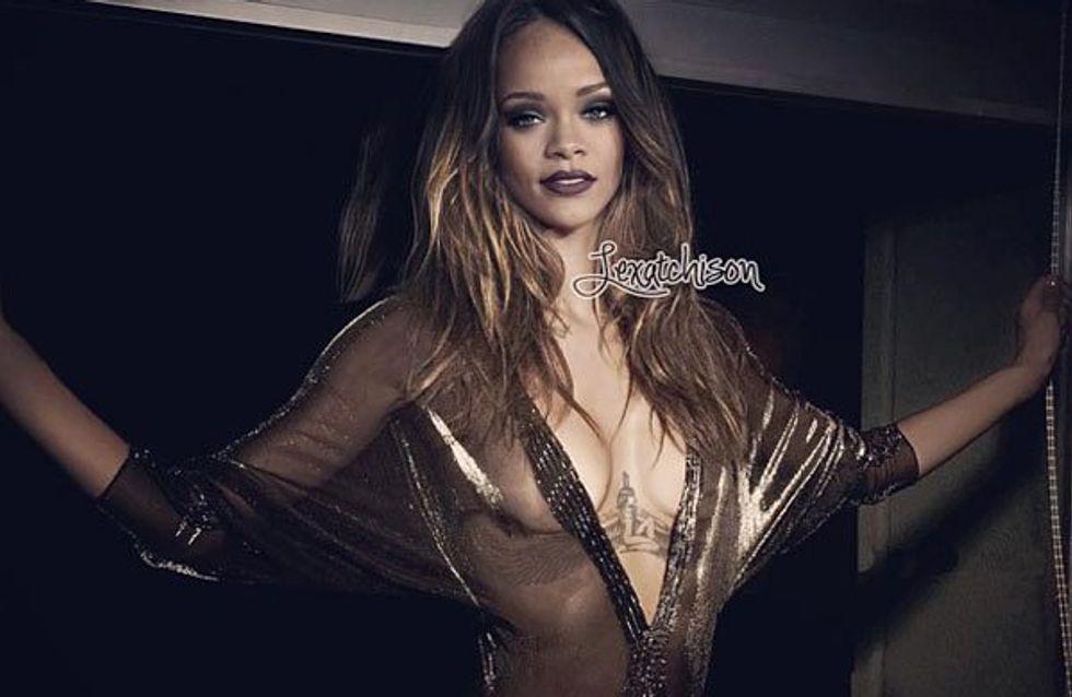 Rihanna : Alerte à la bombe ! (Photos)