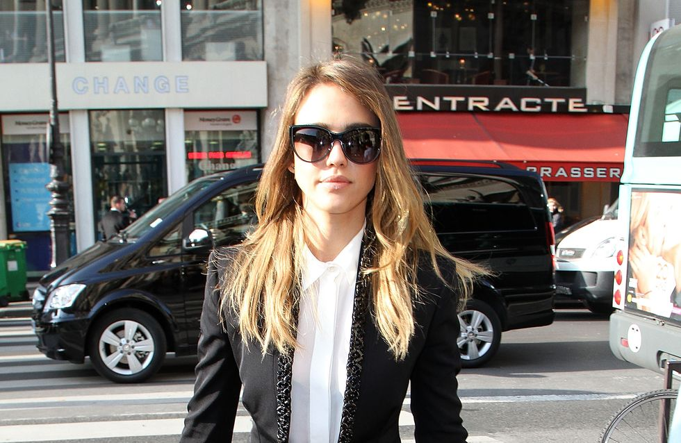 Jessica Alba : Canon avec son look androgyne (Photo)