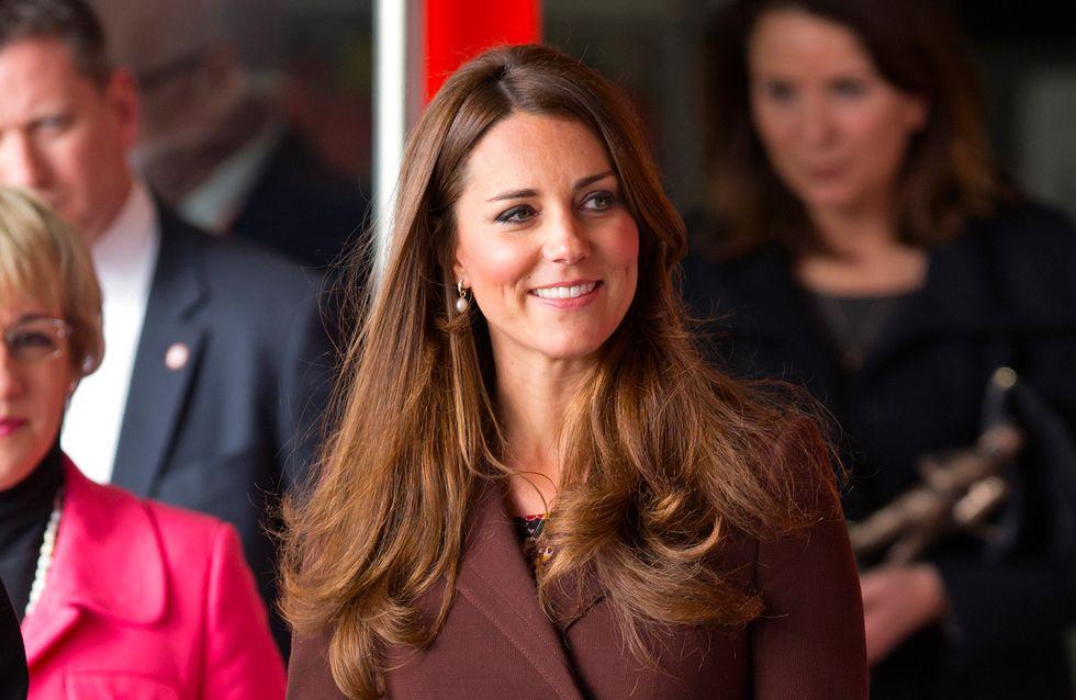Kate Middleton : Ça y est, elle sent le bébé bouger !
