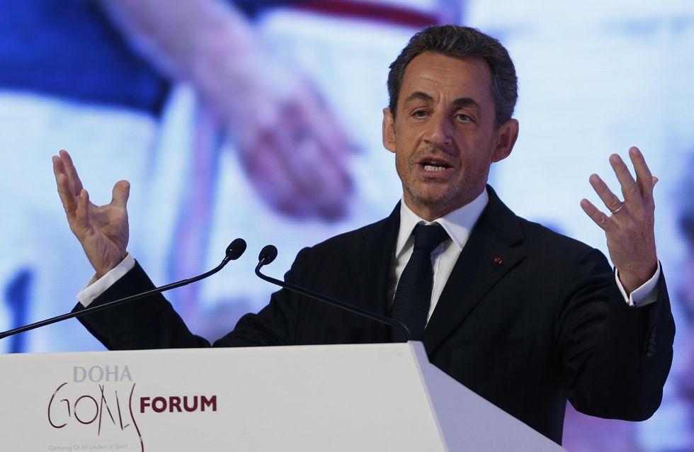 Nicolas Sarkozy : ''Bientôt, ils vont se mettre à quatre pour avoir un enfant''