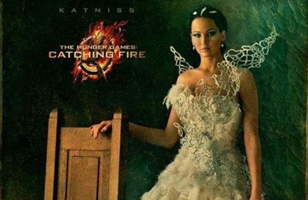 Jennifer Lawrence : Son portrait pour Hunger Games 2 dévoilé ! (Photos)