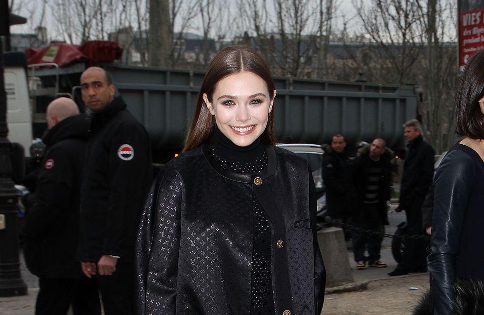 Elizabeth Olsen et Lily Collins plus lookées que jamais chez Vuitton