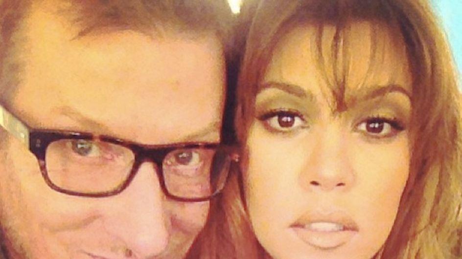 Kourtney Kardashian: Nouvelle coupe et nouvelle couleur de cheveux ! (Photos)