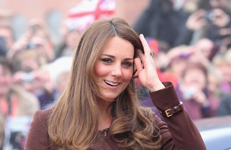 """Kate Middleton enceinte : Elle a choisi """"Séraphine"""" !"""