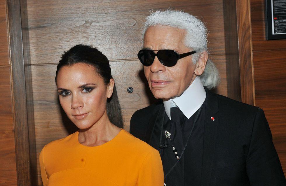 Victoria Beckham : Karl Lagerfeld adore son humour !