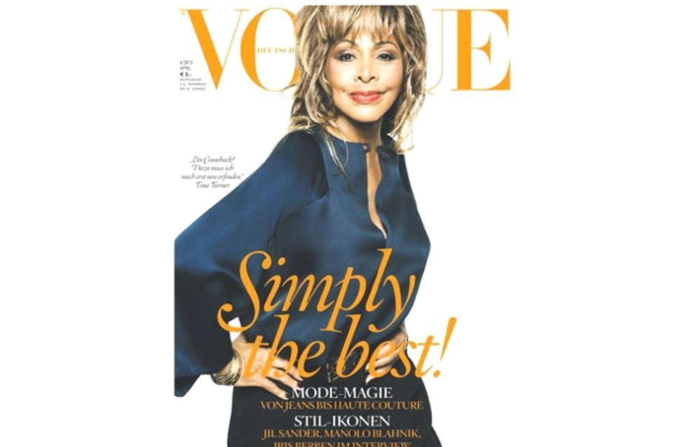 Tina Turner en couverture de Vogue à 73 ans !