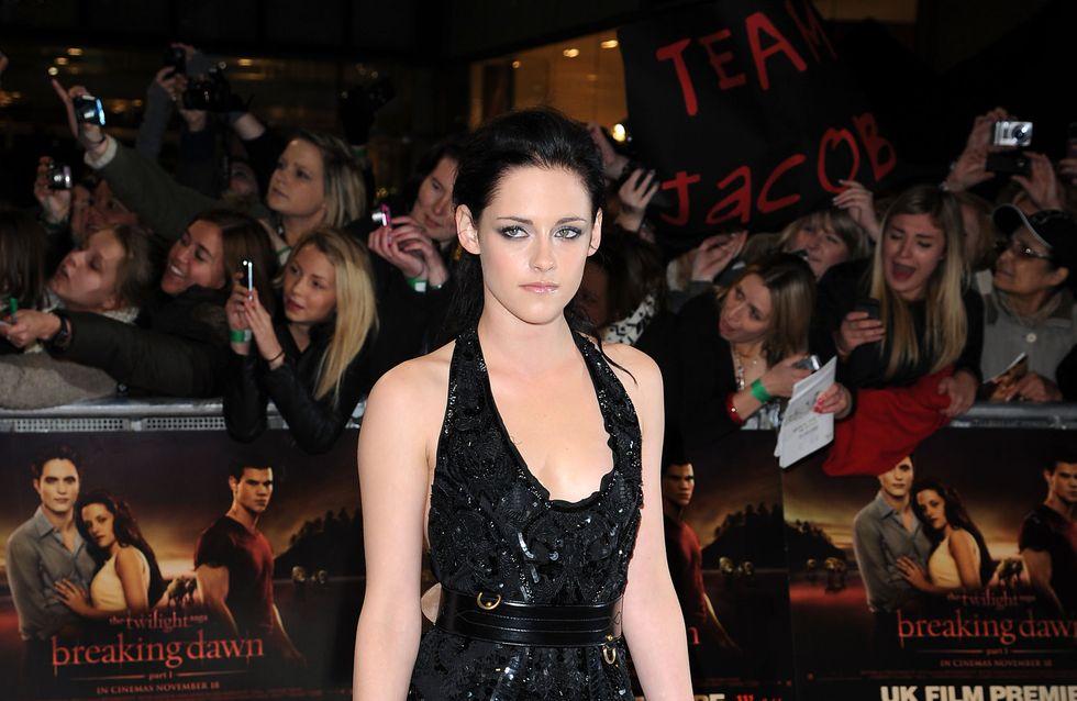 Kristen Stewart refuse de laisser partir Robert Pattinson