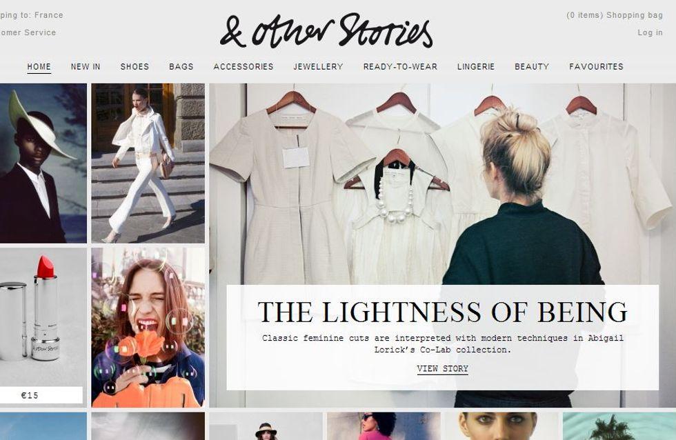 & Other Stories : Le e-shop est ouvert !