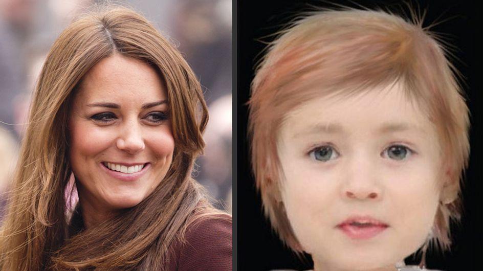 Kate Middleton : Voici à quoi pourrait ressembler sa fille ! (Photos)