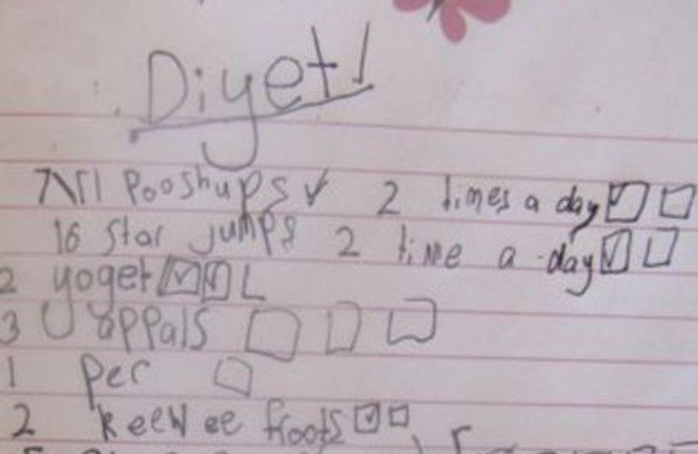 A 7 ans, elle suit un régime draconien en secret