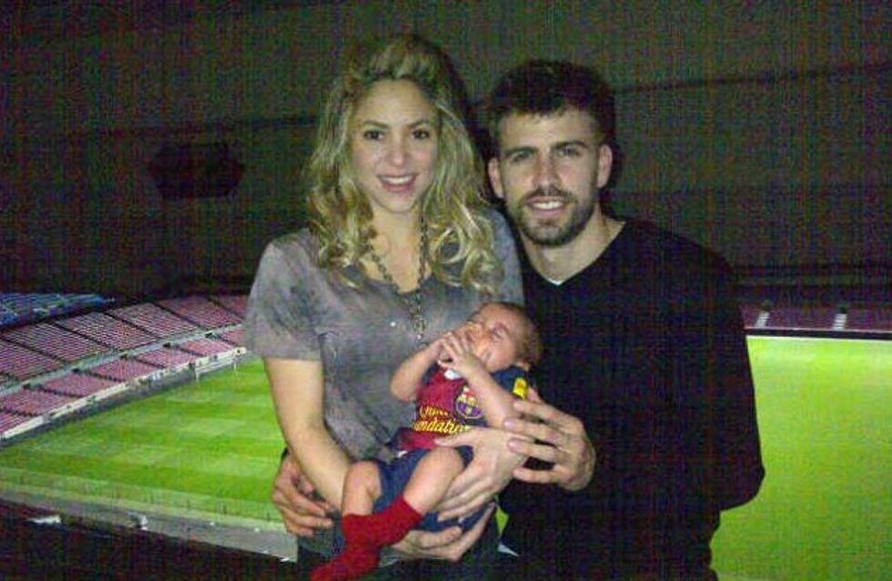 Shakira, Gerard Piqué et Milan : Le portrait de famille ! (Photo)