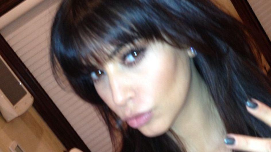 Kim Kardashian s'est fait couper les cheveux ! (Photos et Vidéo)