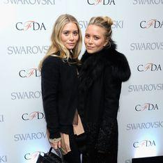 Total look black pour les sœurs Olsen !