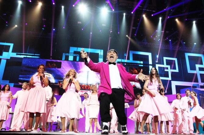 La folie Gangnam Style a aussi frappé les Enfoirés