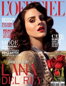 Lana Del Rey pour L'Officiel