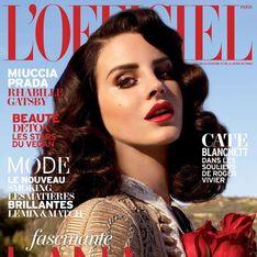 Lana Del Rey, éblouissante en couverture de L'Officiel