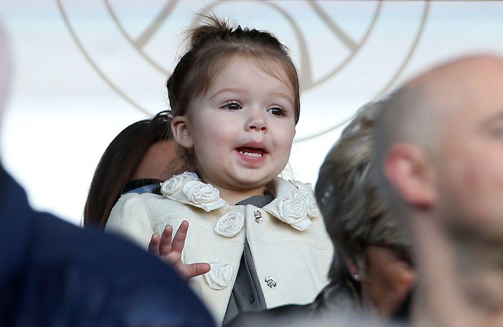 Harper Beckham : Première supportrice de David Beckham ! (Photos)