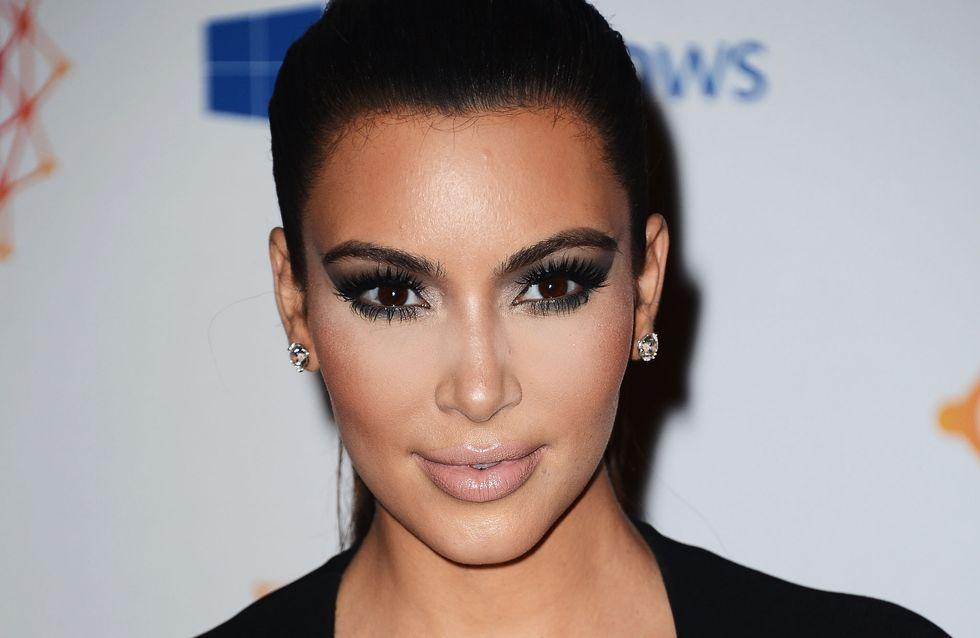 Kim Kardashian : Elle veut une nursery simple mais chic