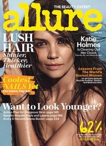 Katie Holmes pour Allure Magazine