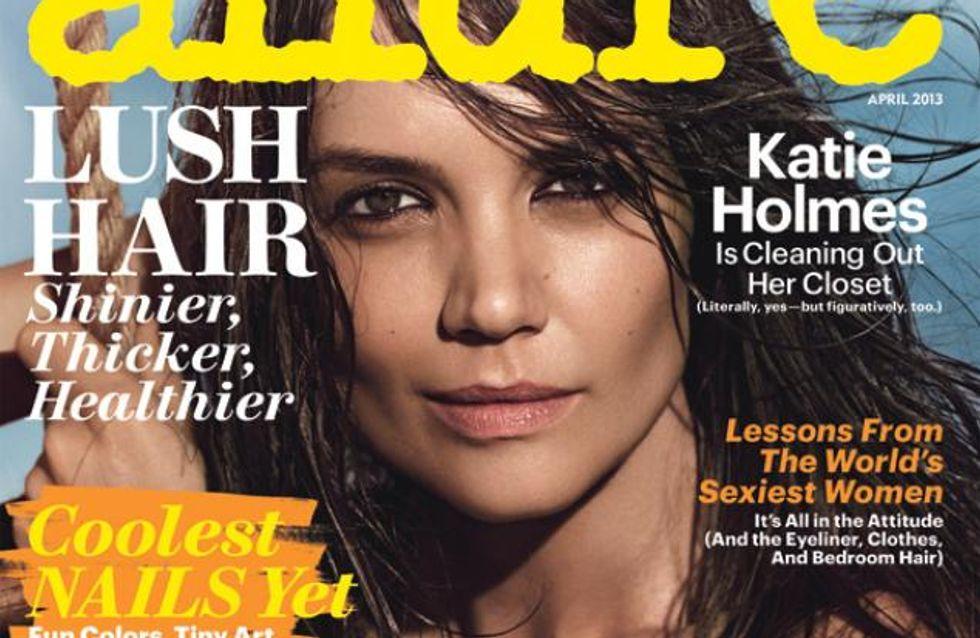 Katie Holmes : Encore à moitié nue ! (Photos)